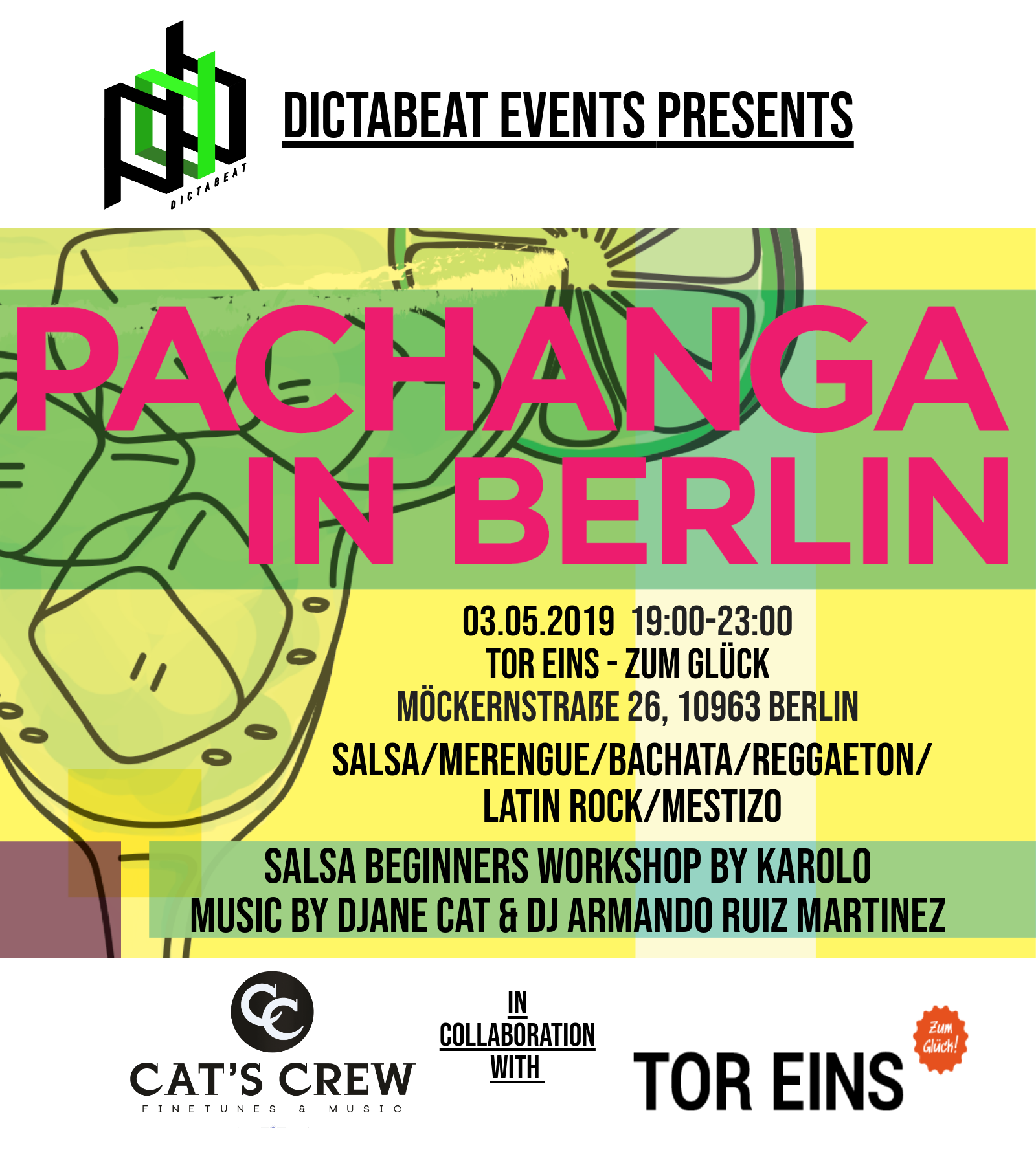 Pachanga in Berlin - Salsa im TorEins